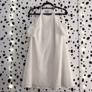 1. STATE Crochet Shift Dress